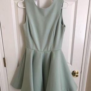 AQ/AQ Mint Green dress